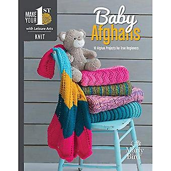Knit Your First Baby Blanket: 14 Easy-to-Stitch Projects for True Beginners