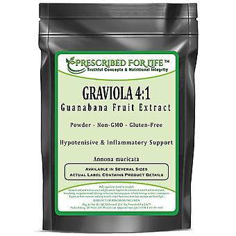 Graviola - 4:1 Guanabana Fruit Pulp Extract Powder (Annona muricata)