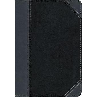 NIV - Thinline Bible - Large Print - Imitation Leather - Black/Gray -