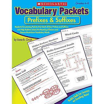 Prefixes & Suffixes by Liane B Onish - 9780545198646 Book