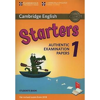 Cambridge English  Starters 1 for Revised Exam from 2018 Student's Bo