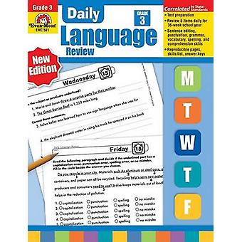 Daily Language Review - Grade 3 by Richard H Williams - Laura B Willi