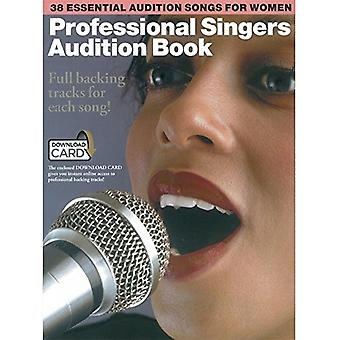 Professional Singers Audition Book - 9781785581779 Book