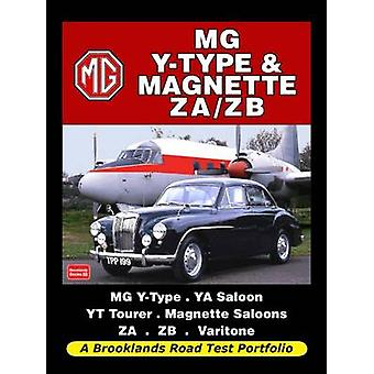 MG Y-Type & Magnette ZA/ZB Road Test Portfolio by R. M. Clarke - 9781