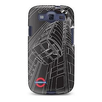 Cygnett London Transport Series Map Case For Samsung Galaxy S3