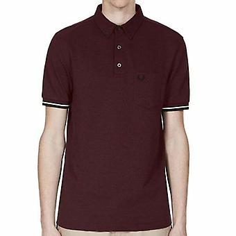 Fred Perry Mens Oxford Pique Short Sleeved Polo Shirt M2584-472