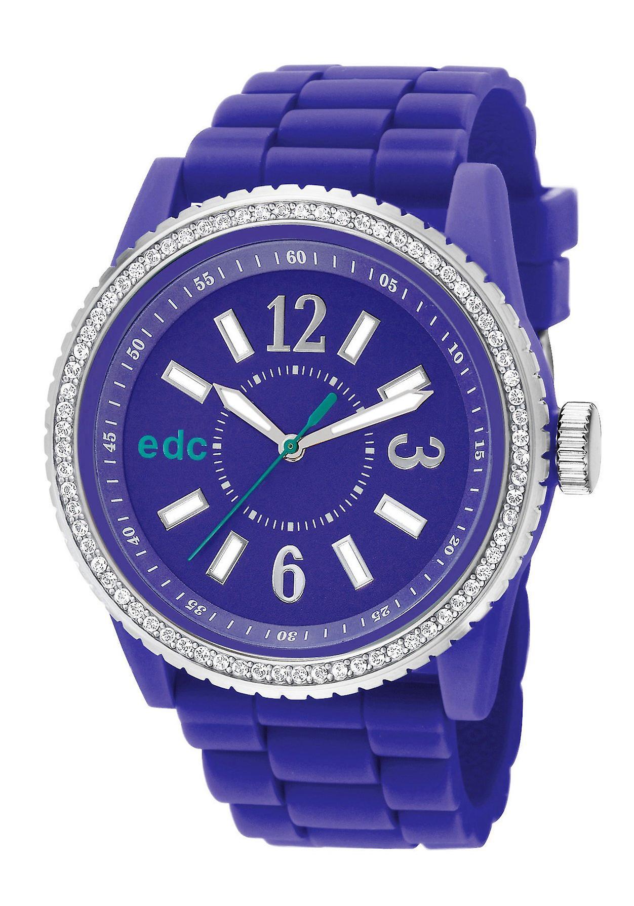 EDC Damenuhr Disco Glam Envy Violet (EE101032003)