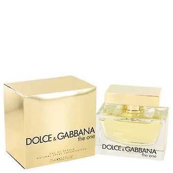 The One By Dolce & Gabbana Eau De Parfum Spray 2.5 Oz (women) V728-434471