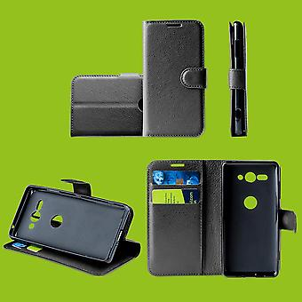 For Huawei Honolulu 9X/9X Pro sak lommebok Premium svart beskyttende tilfelle deksel cover tilfelle nytt tilbehør