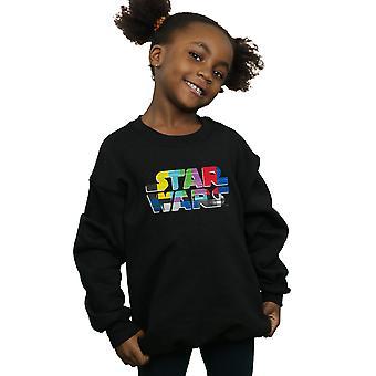 Star Wars Girls Test Card Logo Sweatshirt