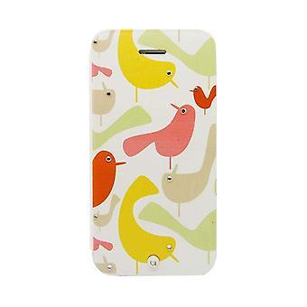 iPhone SE/5s/5 Case Gem Ora Bird - Folio Hard Shell