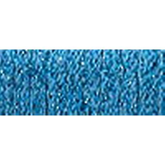 Kreinik Fine Metallic Braid #8 10 Meter 11 Yards blau F 006
