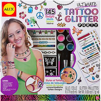 Ultimate Tattoo Glitter Party Kit A799u