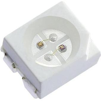 SMD LED (multicolor) PLCC4 rojo, amarillo 100 mcd, 240 mcd 120 ° 20 mA 1.95 V, 2 V Kingbright