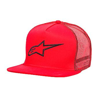 Alpinestars Circuit Corp Trucker Cap - Red