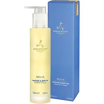 Aromatherapy Associates Huile Relax Massage & Body