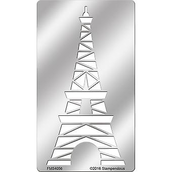 Stampendous Metal Stencil-Eiffel Tower FMS-4056