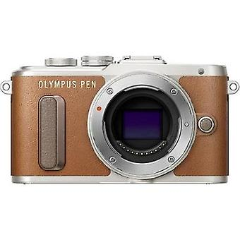 System camera Olympus E-PL8 Casing (Body), Battery 17.2 MPix Brown Wi-Fi