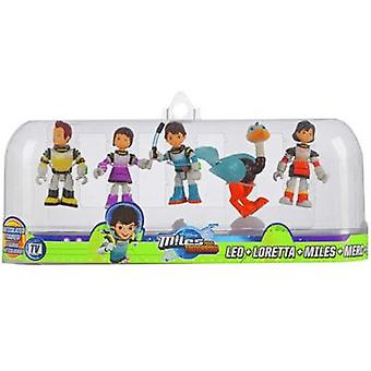 Imc Toys Figures Pack 5 Miles Future