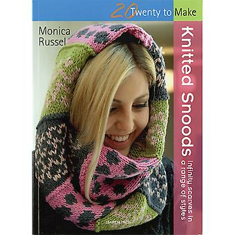 Search Press Books-Knitted Snoods SP-13228