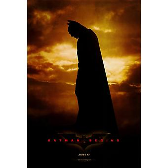 Batman Begins Movie Poster Print (27 x 40)
