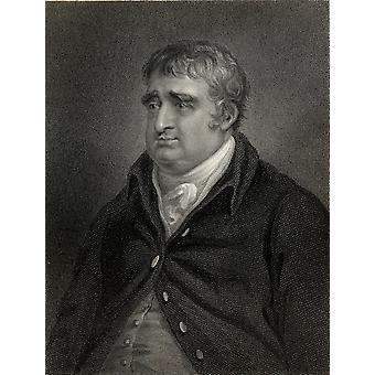 Charles James Fox1749-1806 BritainS premier ministre des affaires étrangères, gravée par SFreeman après Richter H partir du Volume du livre National Portrait Gallery, j'ai publié 1830 PosterPrint