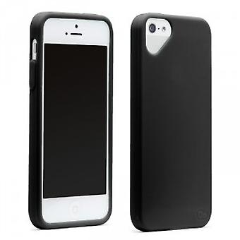 OLO cloud cover iPhone 5 / 5S Black snap on case cover