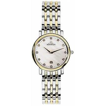 Michel Herbelin Womans Epsilon Two Tone Classic 16945/BT59 Watch