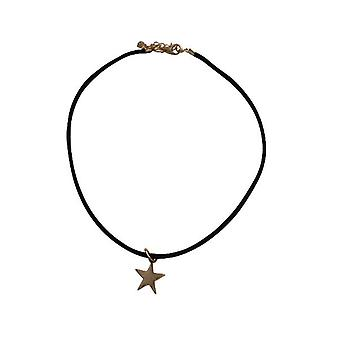 Minimalist statement choker necklace with star