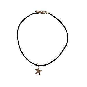 Minimalistische Choker Halskette mit Stern