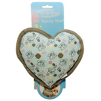 Me To You ® Soft Squeaky Heart (Pack of 6)