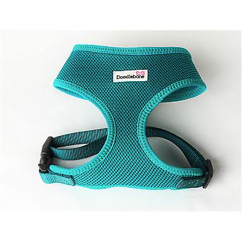 Doodlebone Mesh Harness Teal Small 32-42cm