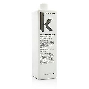 Kevin.murphy Young.Again.Masque (Immortelle and Baobab Infused Restorative Softening Masque - To Dry Damaged or Brittle Hair) - 1000ml/33.6oz