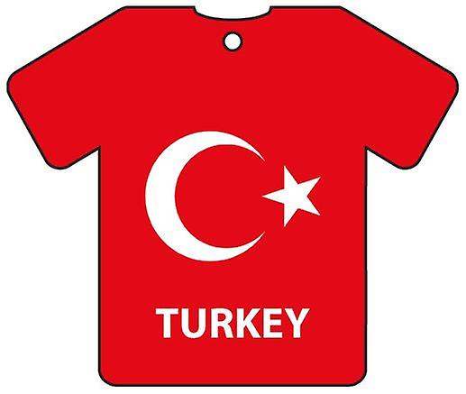 Personalised Turkey Flag Jersey Car Air Freshener