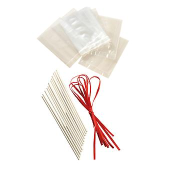 Lolly Sticks Bag & Ribbon Set