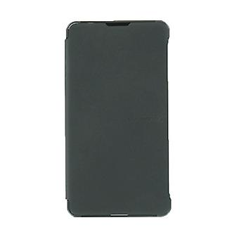 LG funda de transporte para Sprint Optimus G - negro (tapa frontal)