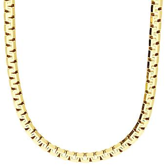 Sterling 925 Silver Venetian chain - VENETIAN 5, 6 mm gold