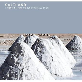 Saltland - I Thought It Was Us But It Was All of Us [CD] USA import