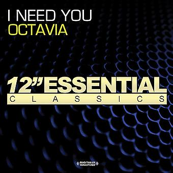 Octavia - I Need You [CD] USA import