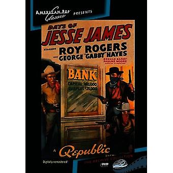 Days of Jesse James [DVD] USA import