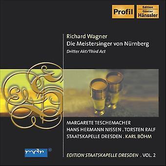 R. Wagner - Wagner: Die Meistersinger Von N Rberg, Third Act [CD] USA import