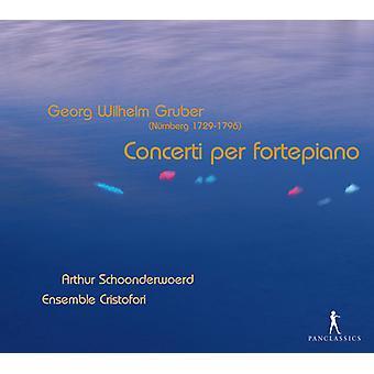 Gruber / Schoonderwoerd - Concerti pr. Fortepiano [CD] USA import
