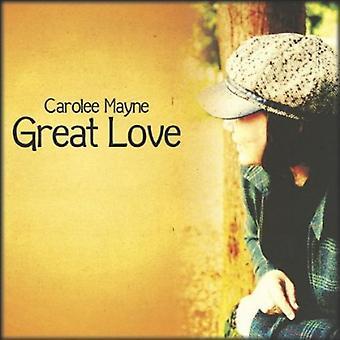 Carolee Mayne - Great Love [CD] USA import
