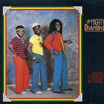 Mighty Diamonds - raíces está allí [CD] USA importar