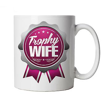 Vectorbomb, Trophy Wife, Funny Mug