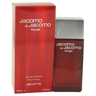 Jacomo Men Jacomo De Jacomo Rouge Eau De Toilette Spray By Jacomo