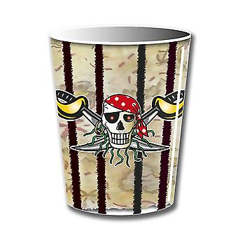 Pirate Party cups Kids Party 8 piece children's birthday party