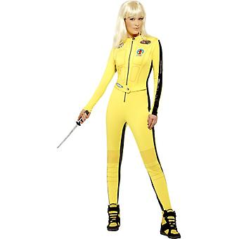Kill Bill costume bride ladies Tarantino original overalls