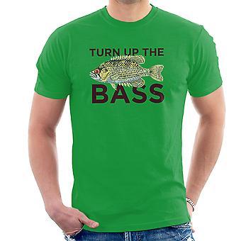 Drehen Sie den Bass Herren T-Shirt