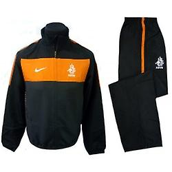2010-11 Holland Nike Woven Tracksuit (Black) - Kids
